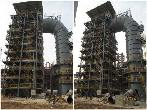 132164东营利源环保科技有限公司180万吨/年DCC联合装置及配套工程余热锅炉、CO焚烧炉整体照片