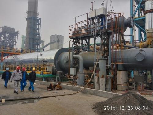 6036G、6057G南京南钢产业发展有限公司燃料供应厂煤气深度脱硫处理项目废热锅炉、焚烧炉