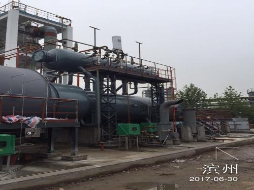 6518G山东铁雄冶金科技有限公司低品质硫膏和脱硫液副盐资源化利用工程废热锅炉3